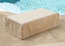 Rectangular table patio furniture cover from CoverMates