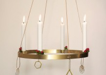 Round candle holder from ferm LIVING