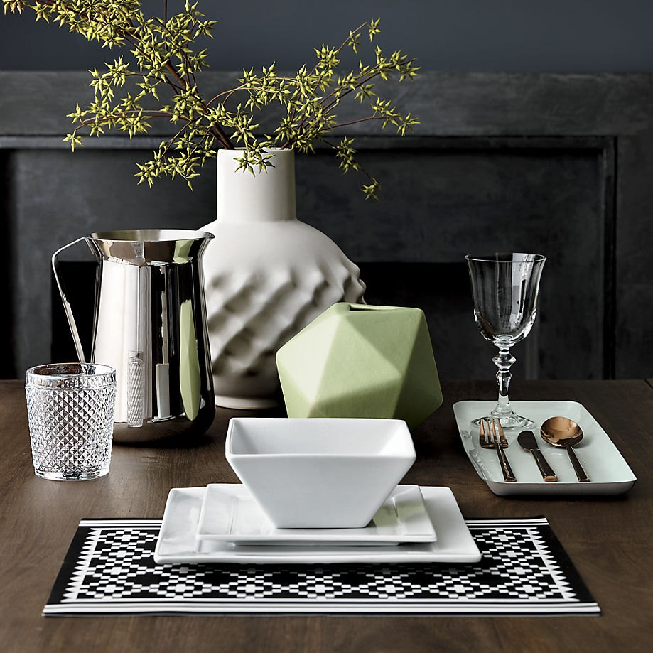 Sculptural centerpiece idea from CB2