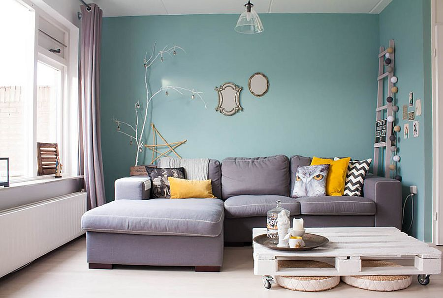 Shabby Chic Living Room Meets Contemporary Elegance From Louise De