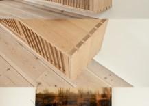 Shoji floating cabinet