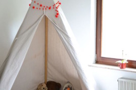 Simple DIY teepee 15 Whimsical Teepee Reading Nooks for Kids 15 Whimsical Teepee Reading Nooks for Kids Simple DIY teepee