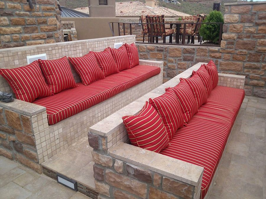 ... Smart And Durable Seating For The Outdoor Home Theater [Design:  Republic Gardens