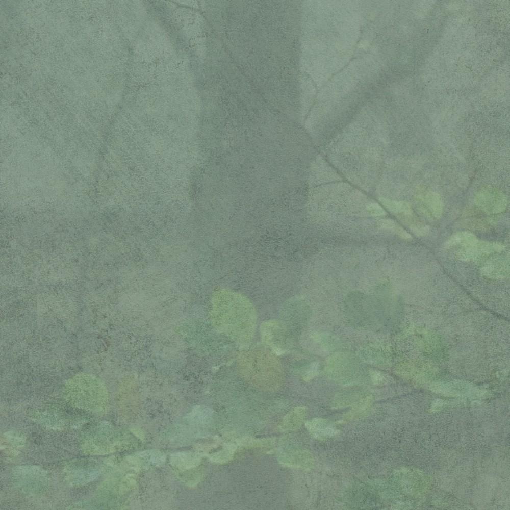 Skog green wallpaper Sandberg