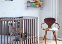 Sleek eco-friendly crib from Oeuf