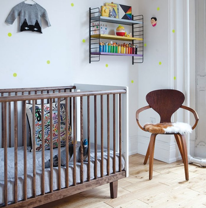 Sleek eco-friendly crib from Oeuf