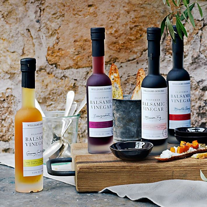 Specialty balsamic vinegars from Williams-Sonoma