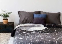 Starry duvet cover from Urban Outfitters