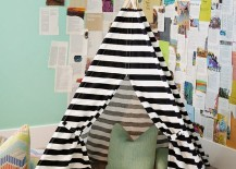 Striped-teepee-as-a-reading-nook-in-a-corner-of-the-room-217x155