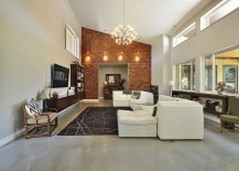 Stunning-brick-accent-wall-for-the-modern-living-room-accentuated-with-sparkling-lights-217x155