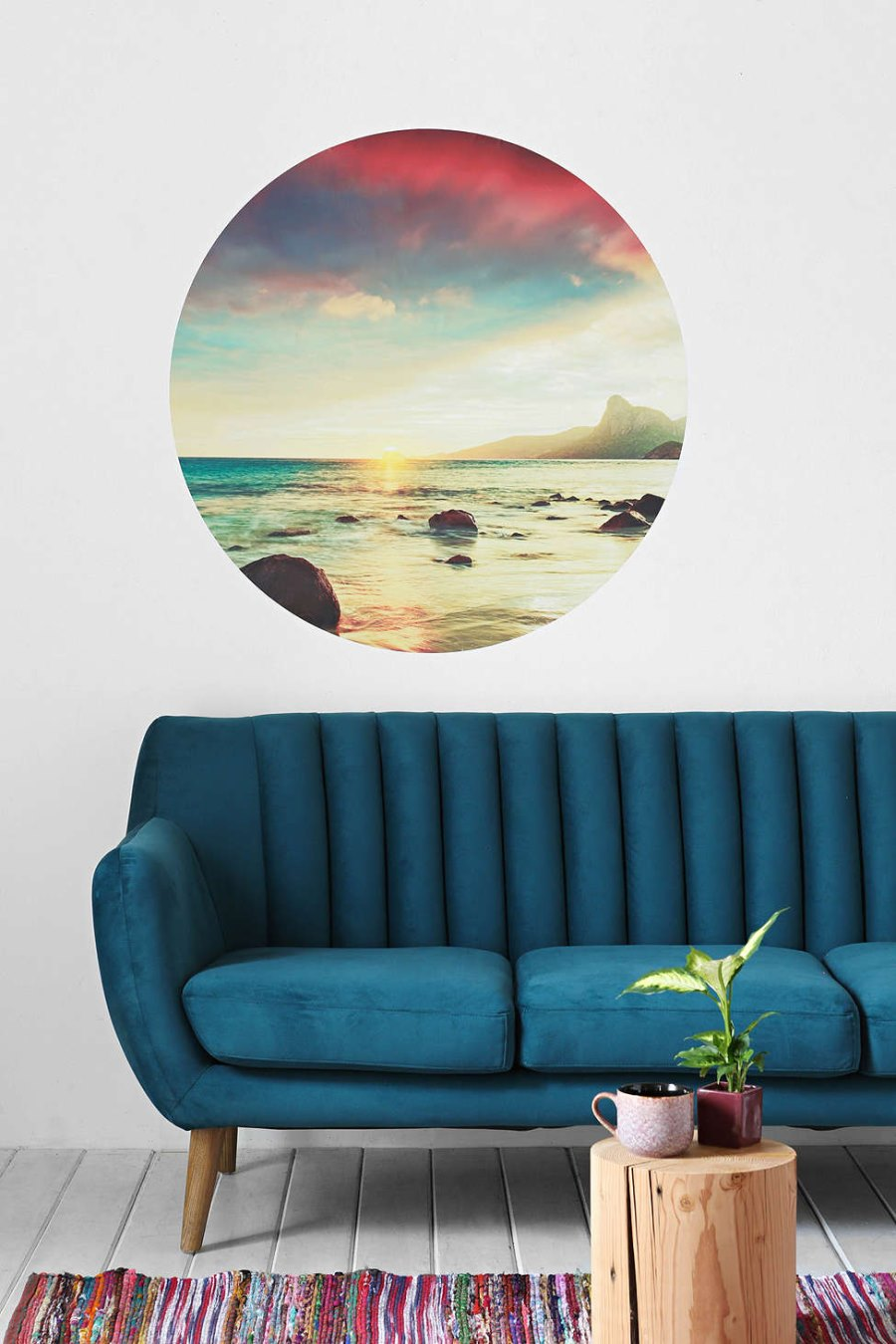Sunset wall decal from Urban Outfitters