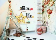 Teepee-corner-made-with-colorful-map-fabric-217x155