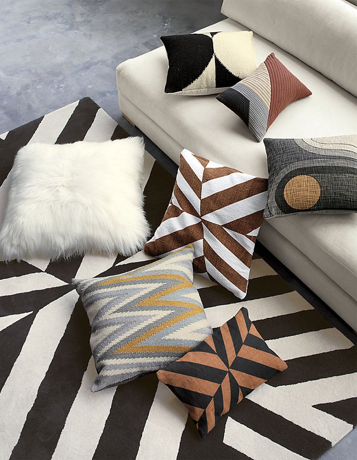 Textiles from the Kravitz Design and CB2 collaboration