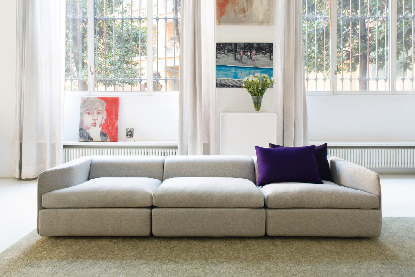 10 High End And Handsome Contemporary Sofas