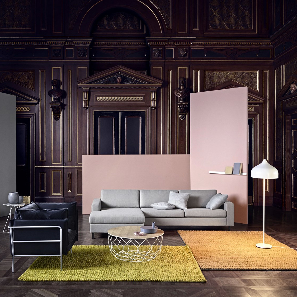The Scandinavia corner sofa