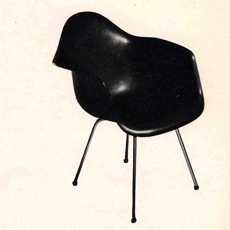 The history of the Eames Molded Plastic Chairs