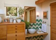Tiles-in-the-bathroom-add-chevron-pattern-217x155