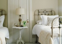 Tranquil shabby chic bedroom with cottage influence [Design: SchappacherWhite Architecture]