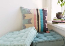 Tufted cushions from Urban Outfitters