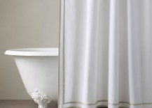 Turkish cotton shower curtain from Restoration Hardware