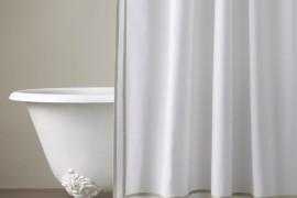 Turkish Cotton Shower Curtain From Restoration Hardware Elegant High End Curtains