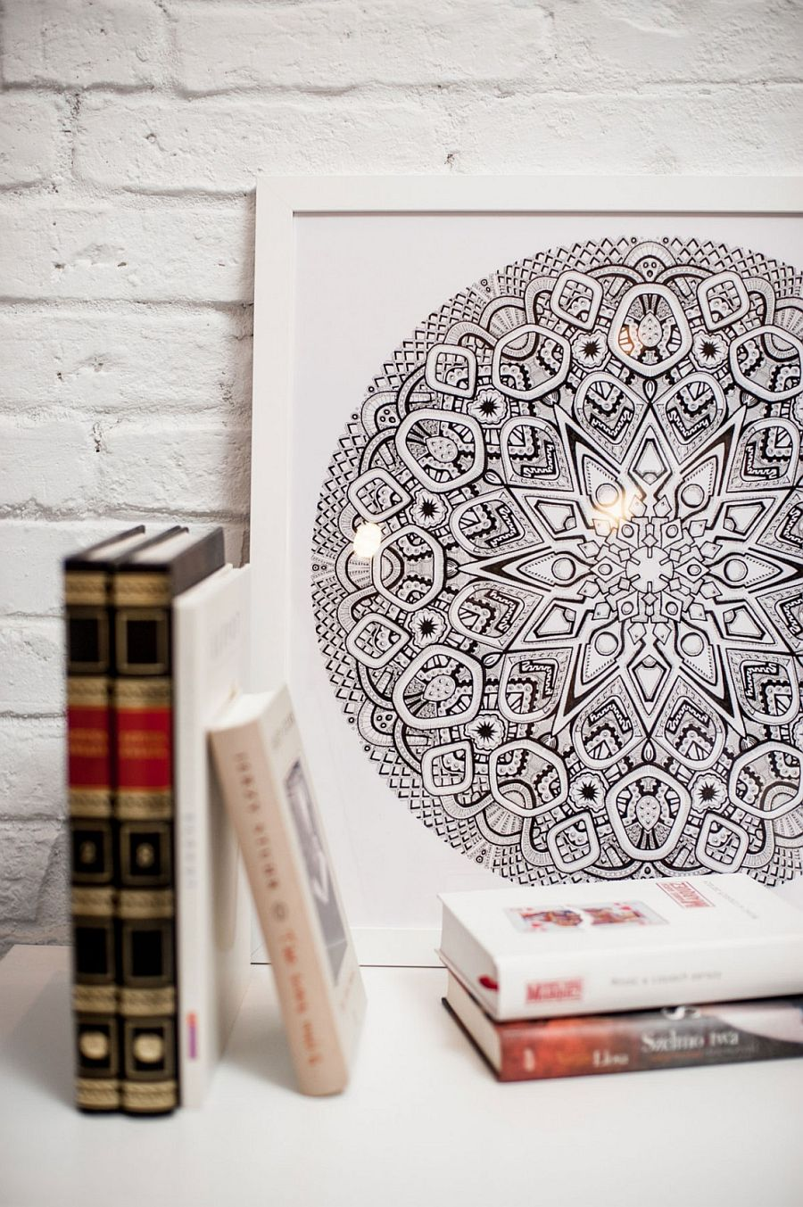 Use of Mandalas to create interesting pattern to the living space