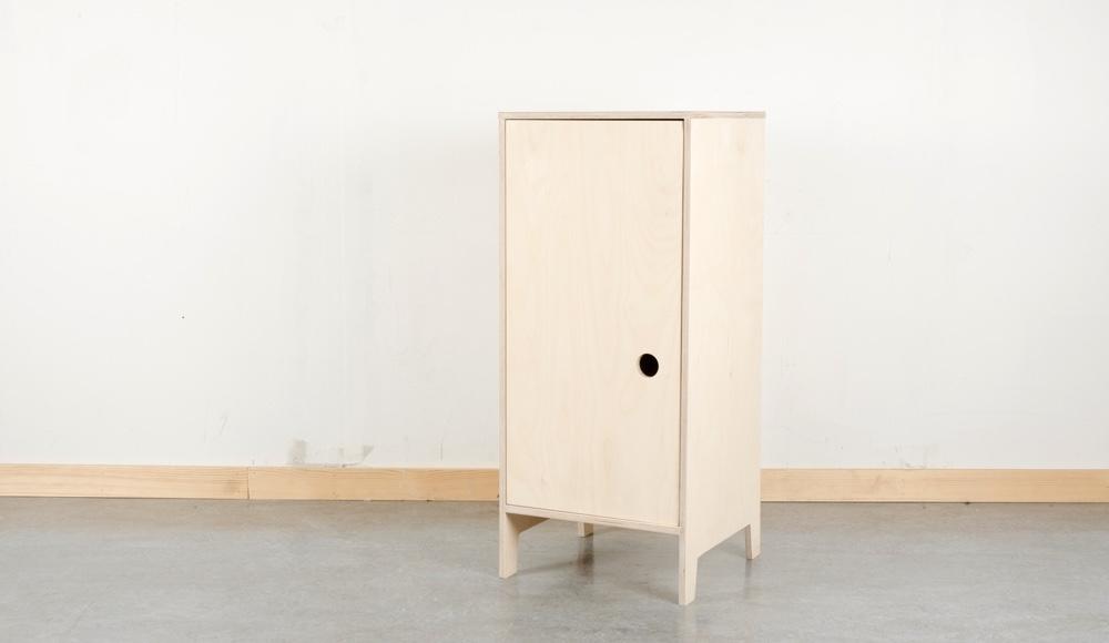 Villmann single piece shelving system