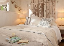 Vintage-touches-and-headboard-crafted-from-reclaimed-wood-for-the-shabby-chic-bedroom-217x155