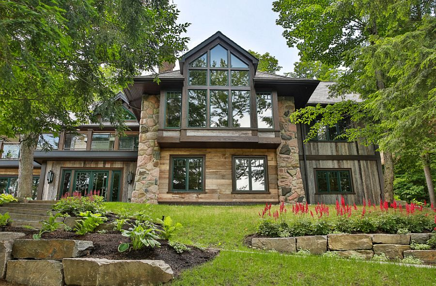 Rosseau Retreat Rustic Lakeside Cottage Morphed Into An