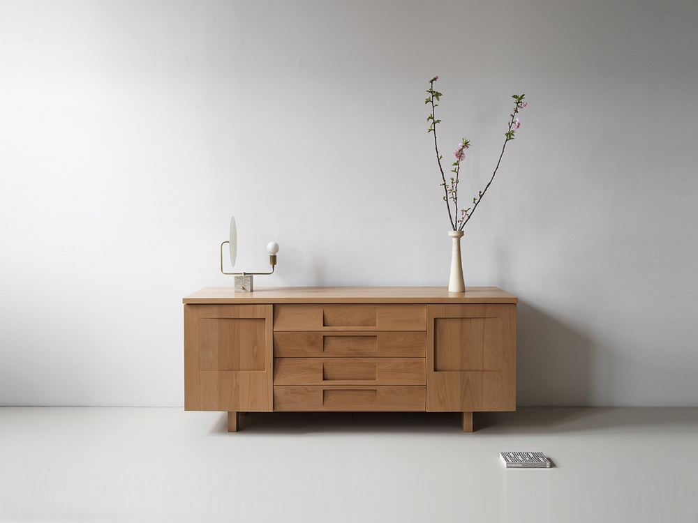 Workstead Credenza in beech