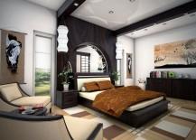 Zen bedroom combines style, comfort and tranquility