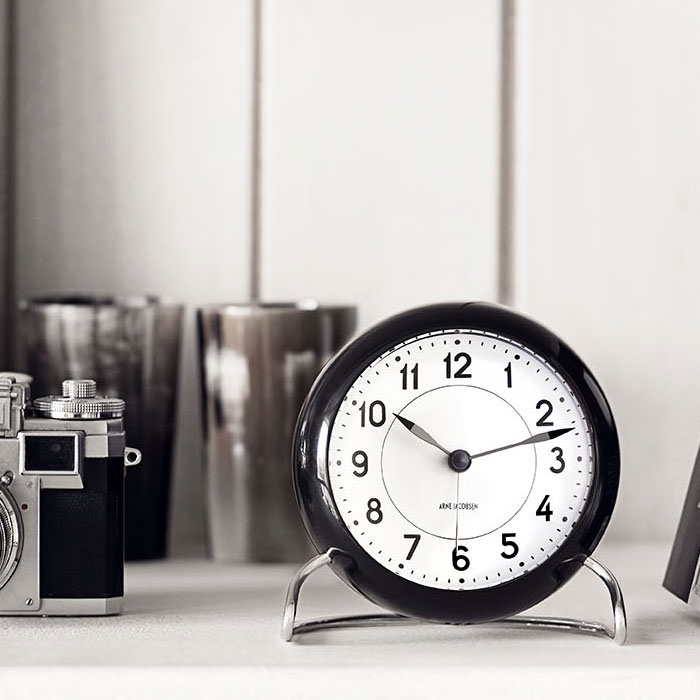 AJ Station Table Clock
