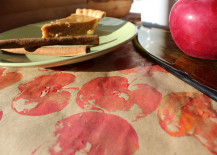 Use Your Over-Ripe Apples to Make Fun Fruit-Stamped Decor