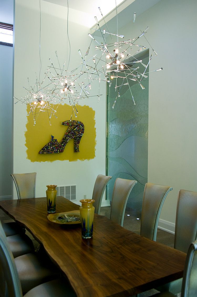 Artsy lighting fixture brings a sparkling festive charm with it [Design: Sisters in Sync]