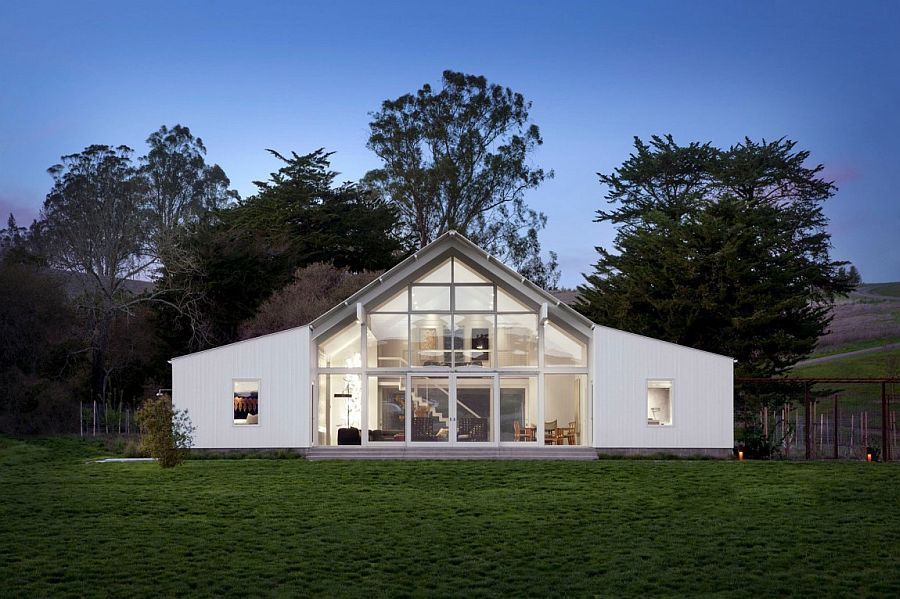 Barn-inspired Californian ranch promotes a healthy, sustainable lifestyle