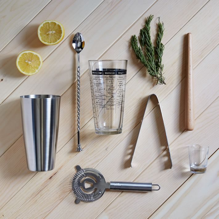 Barware set from West Elm