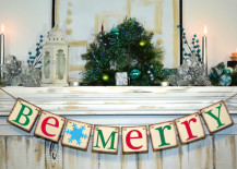 Be Merry banner for the holidays 217x155 Holiday Banner Ideas to Showcase Your Cheerful Message