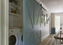 Beautiful-blue-barn-door-that-hides-a-washer-and-dryer-217x155