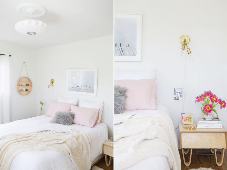 Bedroom makeover from Design Love Fest