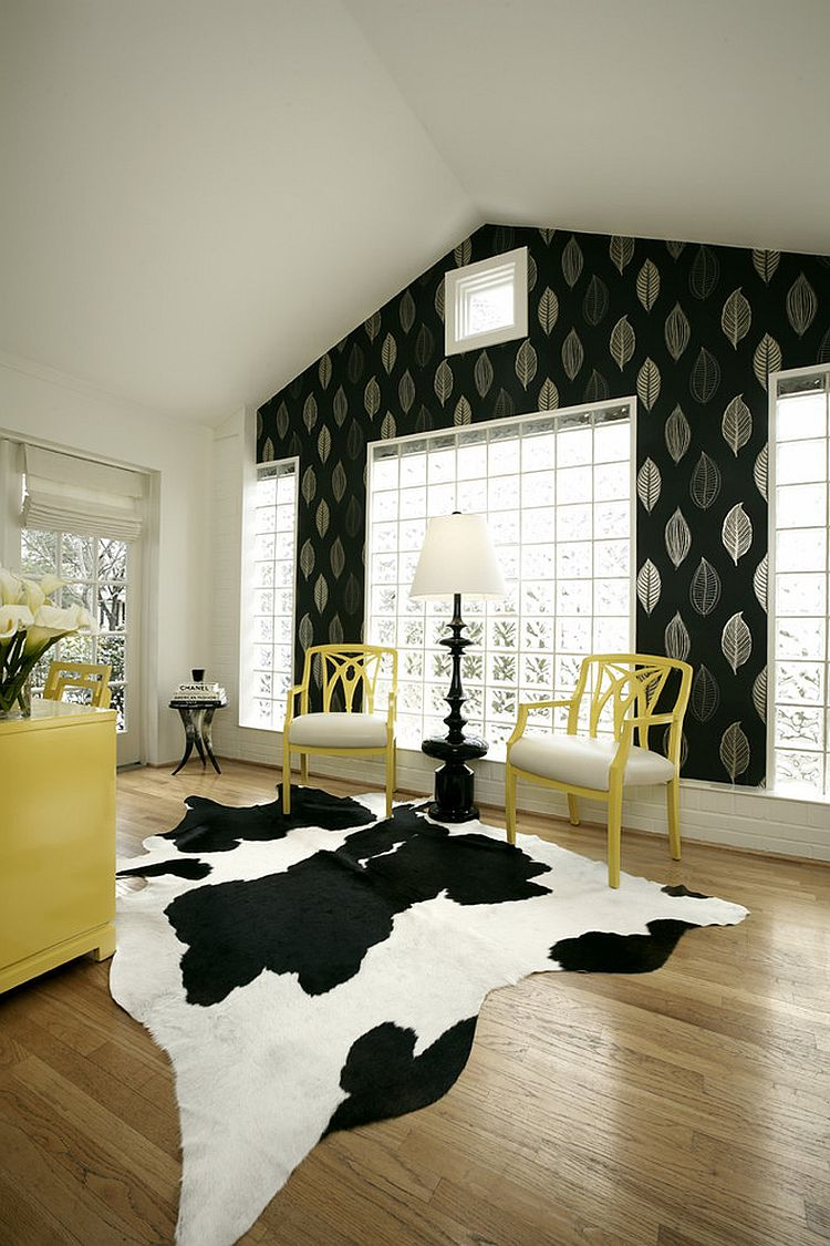 office black. View In Gallery Black And White Home Office Lets You Try Out Different Accent Hues [Design: Pulp K