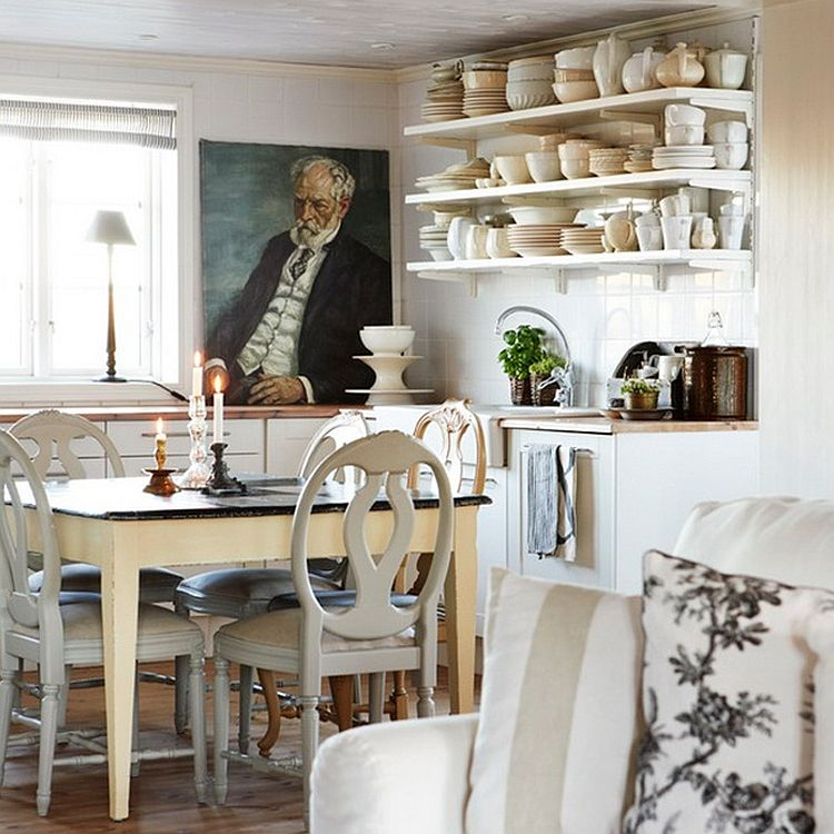 Bring together the kitchen and the dining area with ease