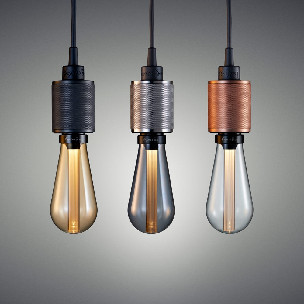 Buster Bulbs with Heavy Metal pendants
