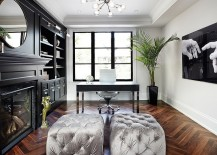 Chic-home-office-with-a-hint-of-Hollywood-Regency-217x155