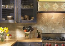 Chicken-wire-cabinets-are-a-popular-option-in-the-shabby-chic-kitchen-217x155