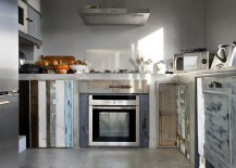 Choosing distressed cabinets for the shabby chic kitchen