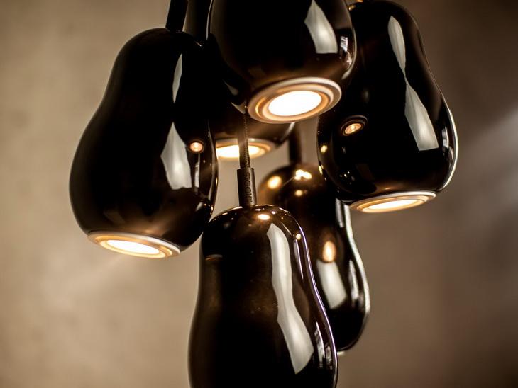 Cluster of Babula pendant lamps