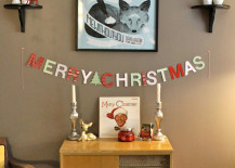 Colorful Merry Christmas banner on wall 217x155 Holiday Banner Ideas to Showcase Your Cheerful Message