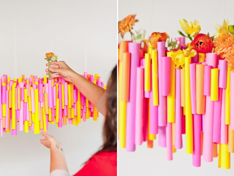 Colorful chandelier from Paper & Stitch Easy Thanksgiving Food and Decor Ideas for a Stress-Free Holiday Easy Thanksgiving Food and Decor Ideas for a Stress-Free Holiday Colorful chandelier from Paper Stitch
