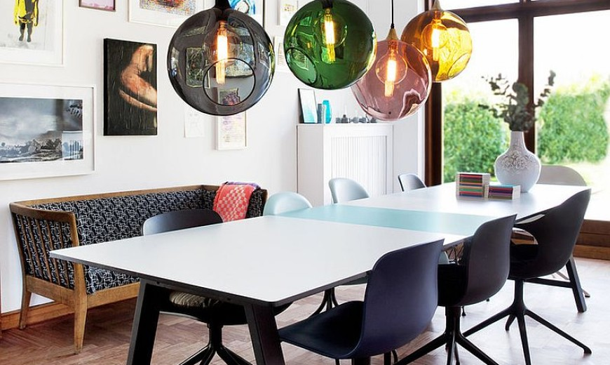 Dazzling Feast: 21 Creatively Fun Ways to Light Up the Dining Room