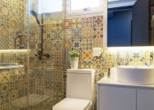 Colorful-tiless-give-the-modern-bathroom-a-playful-appeal-217x155